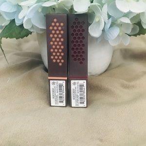 Two Burt's Bees Lipsticks